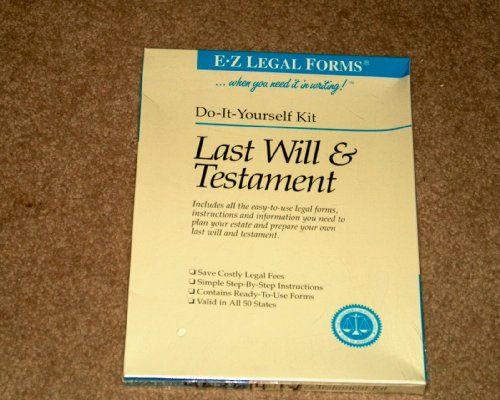 Last will testament e z legal kit do it yourself kit http last will testament e z legal kit do it yourself kit http solutioingenieria Gallery