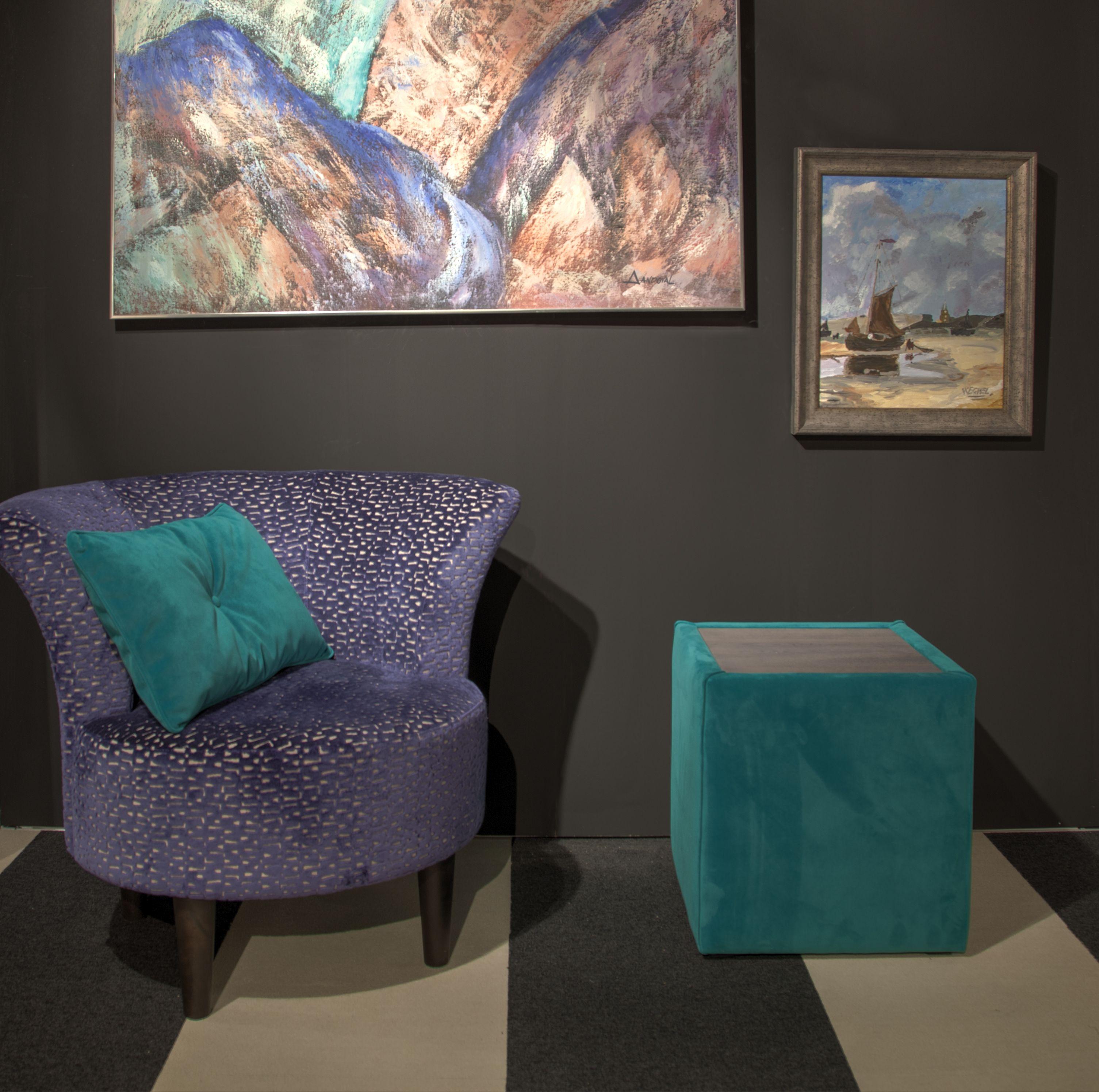 fauteuil, betty, meubitrend, hocker, schilderij, inspiratie, sfeer, Deco ideeën