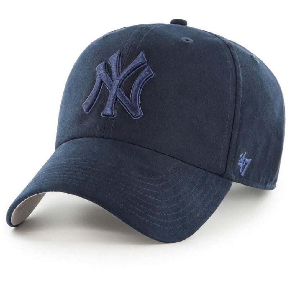 bfa7d86de Mlb New York Yankees Clean Up Curved V Relax Fit 47 Brand Blue Men B ...