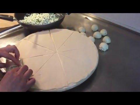 طريقة لف الفطائر Arabic Food Pizza Bread Dessert Recipes