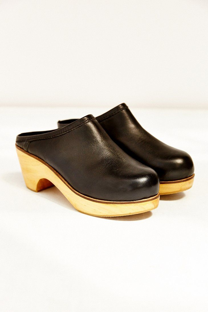 d79ec5a4d2b BDG Marigold Leather Platform Clog - Urban Outfitters | for me ...