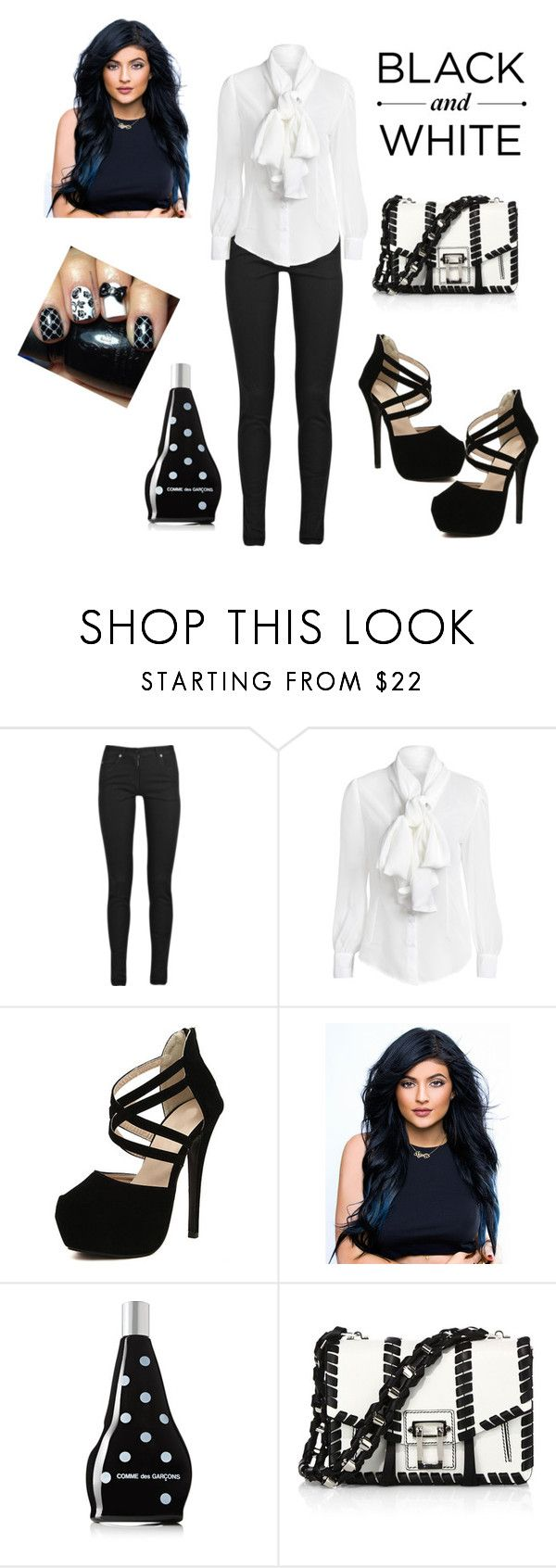 """""""CFB07"""" by francislu-brito ❤ liked on Polyvore featuring Maison Margiela, Comme des Garçons and Proenza Schouler"""