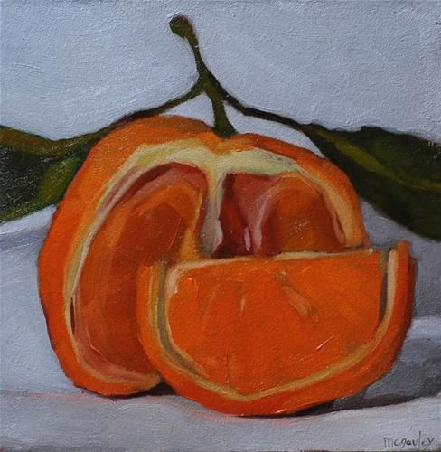 """""""Clementine"""" - Original Fine Art for Sale - © by Sharon McGauley"""