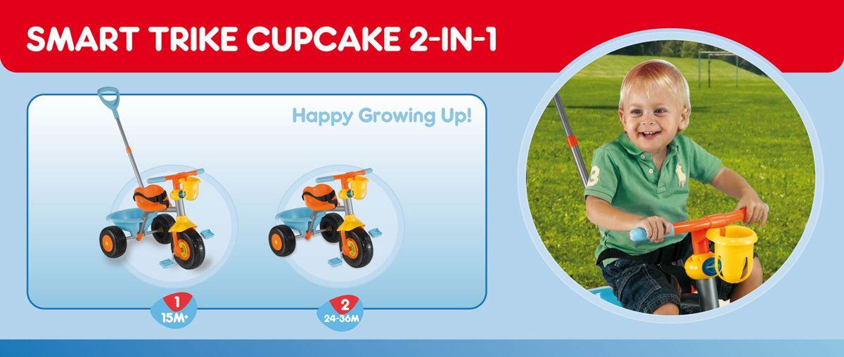 Smart Trike Dečji tricikl Cupcake BRY 1392800 - Kliknite na sliku da uvelicate