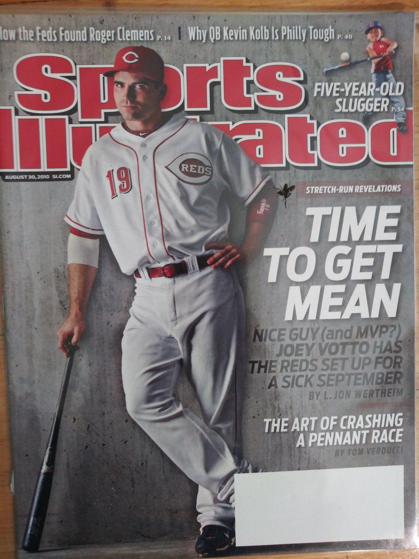Sports Illustrated, August 30, 2010Joey VottoCincinnati
