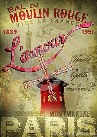 moulin rouge l amour poster moulin