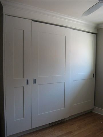 Closet Door Diy Maybe I Could Take The Nasty Metal Off Our Sliding Doors And Replace