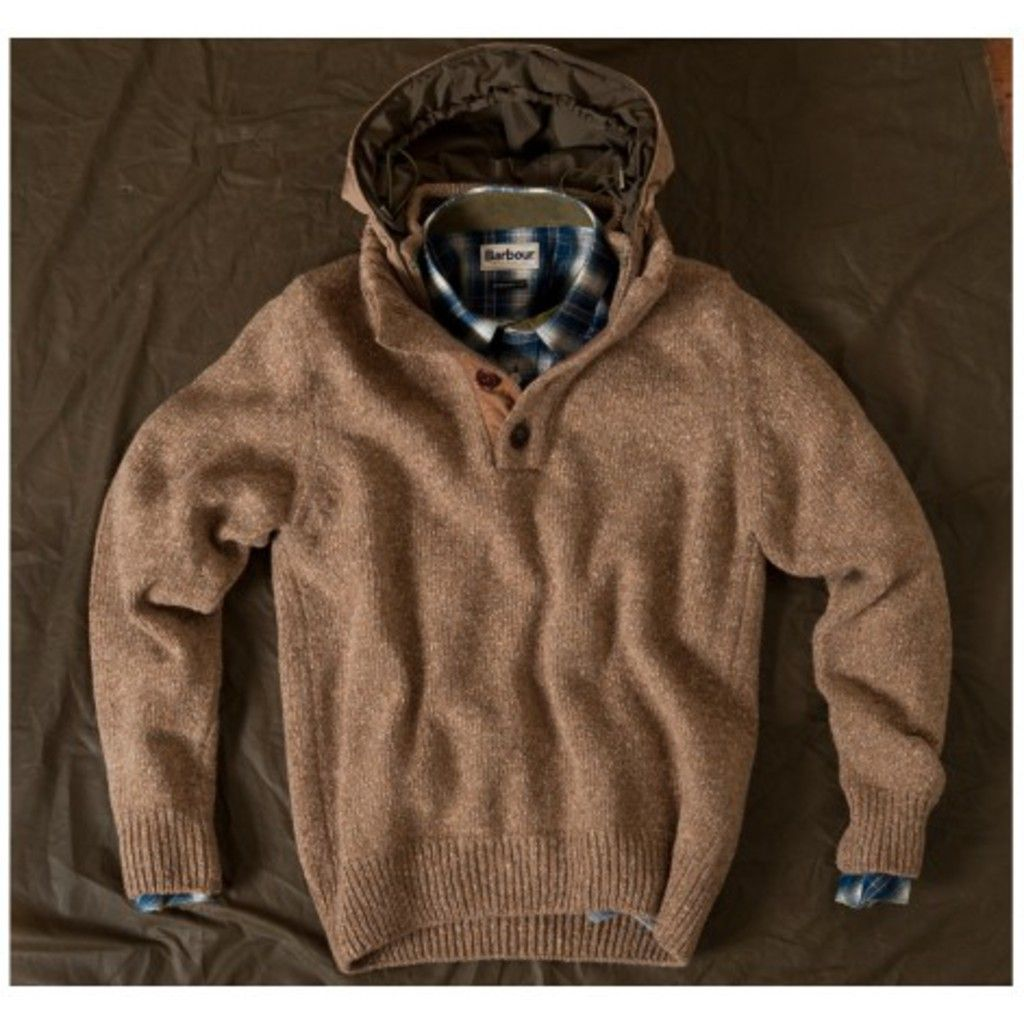 Barbour District Half Button Jumper | Clothing | Pinterest ...