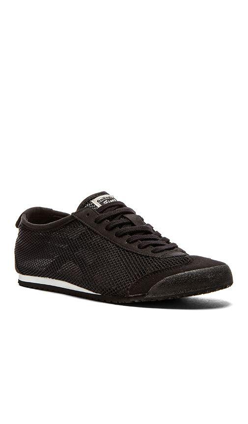Zapatos negros vintage Onitsuka Tiger para hombre JFLR9Y7N