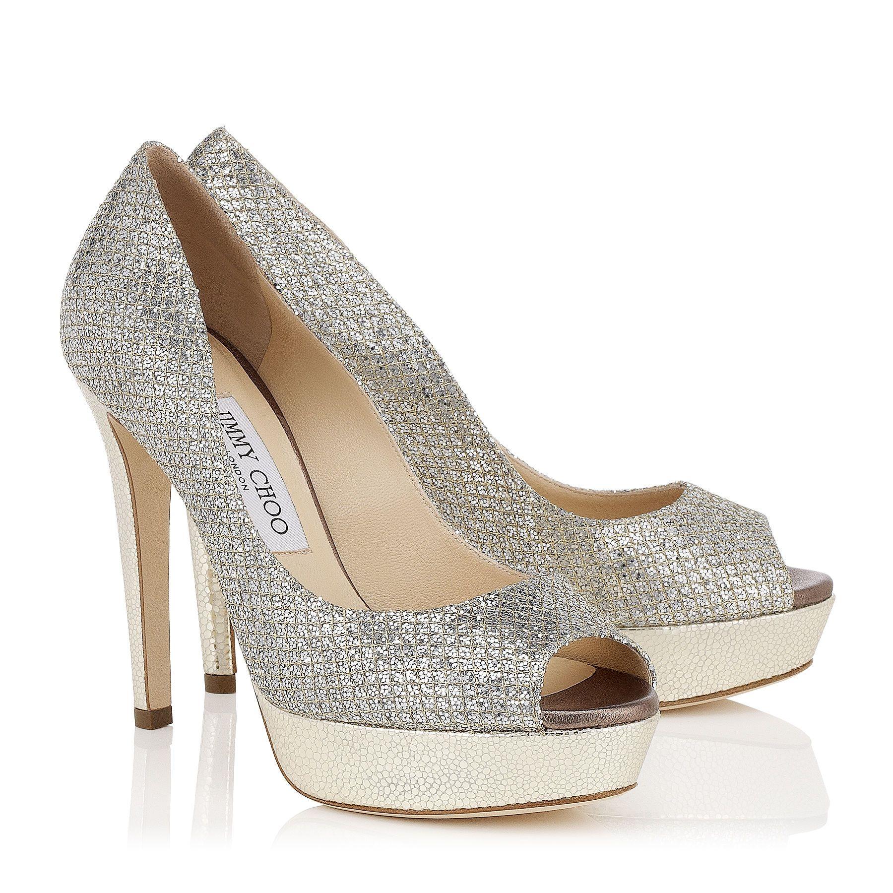 02464ec1fe7c DAHLIA - CHAMPAGNE GFA Shoes. DAHLIA - CHAMPAGNE GFA Shoes Glitter Fabric