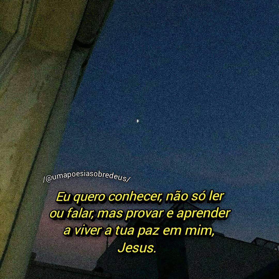 Uma Poesia Sobre Deus On Instagram Jesus Ensina Nos A Viver A