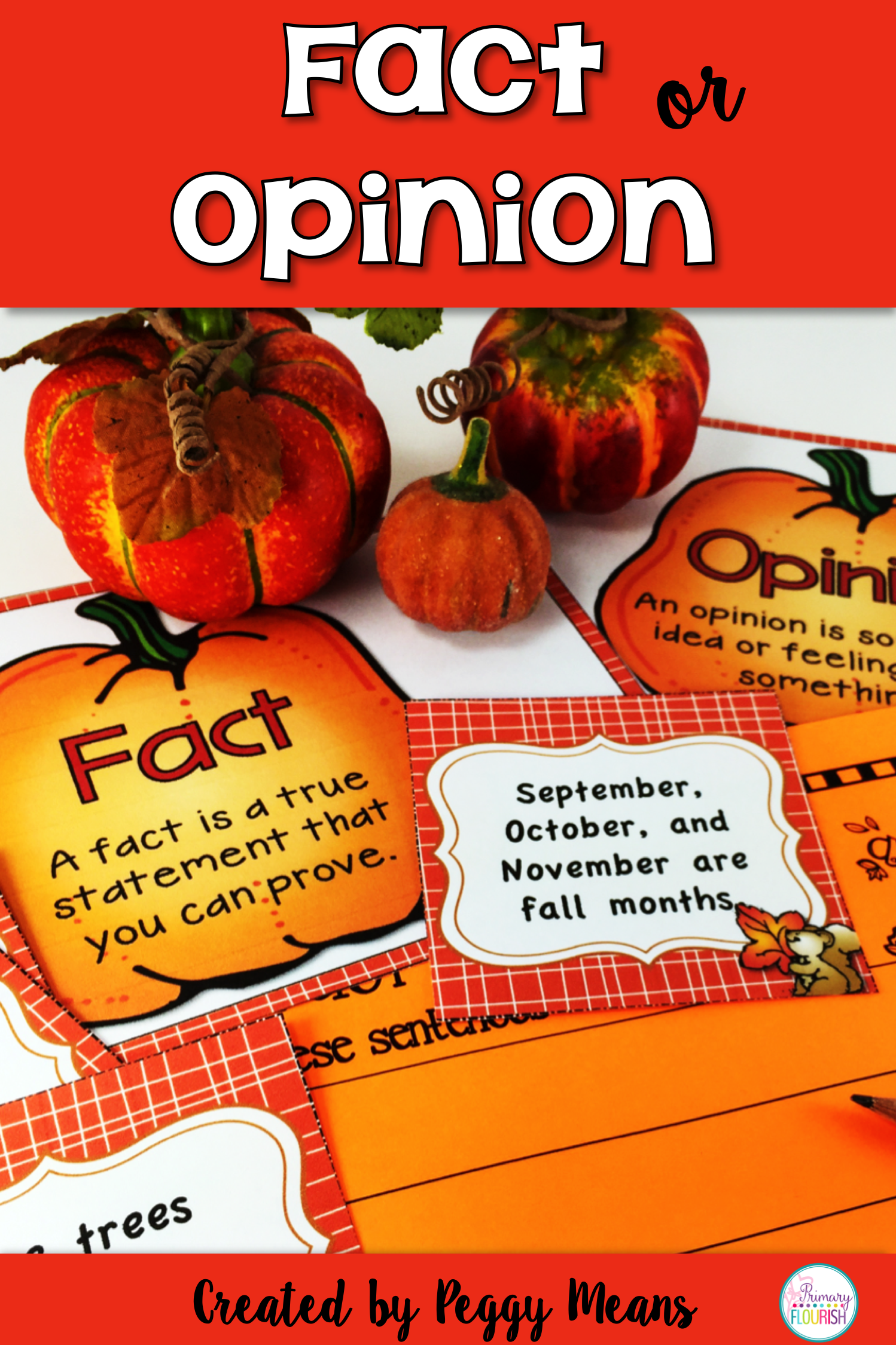 Fact Or Opinion Fall