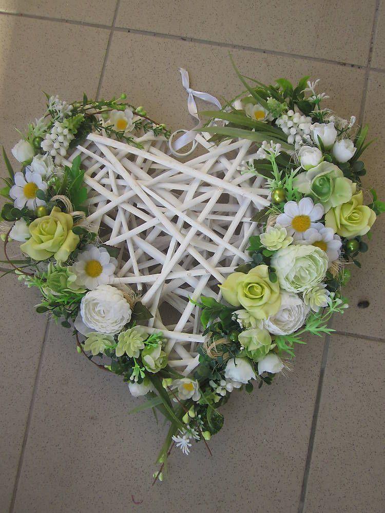 závesné srdce-38cm môže byt na dvere ale aj na svadobné auto:-)