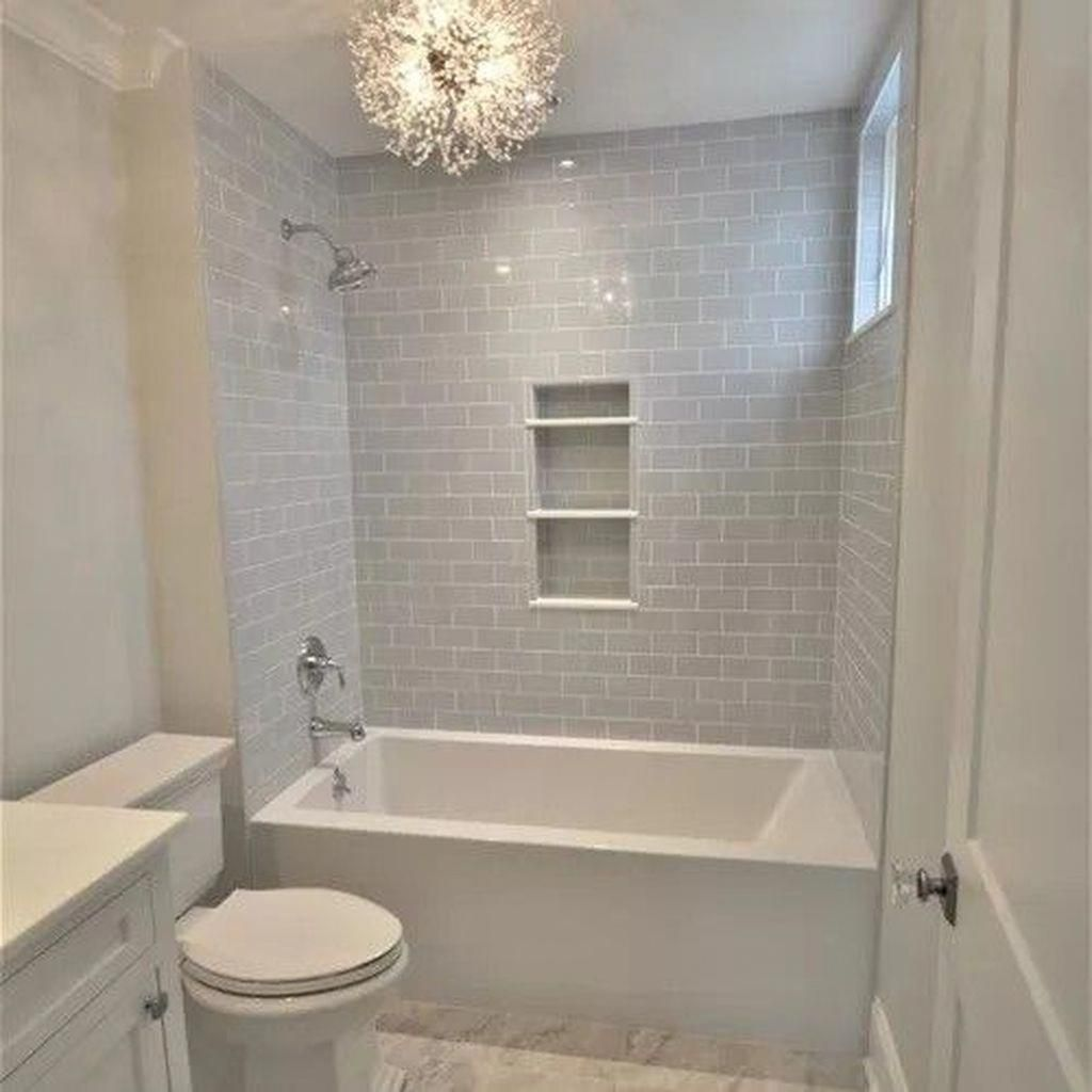 Stunning 50 Impressive Bathroom Shower Remodel Ideas 29 Guest Bathroom Ideas To Wow Your Visitors Bathroom Shower Remodel Small Bathroom Bathrooms Remodel