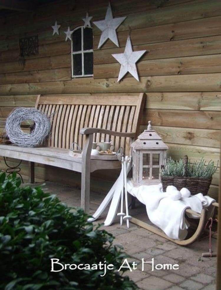 diy weihnachtsdeko und bastelideen zu weihnachten, skandinavische ... - Deko Garten Modern