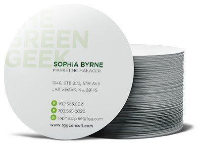 Pin by brenda weaver on business tips pinterest business cards circle business cards by overnightprints colourmoves Choice Image