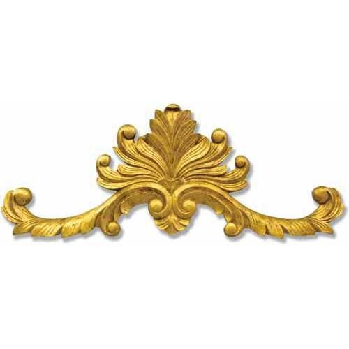 Scrolling Leaf Wall Plaque | Leaves, Wall decor and Doors