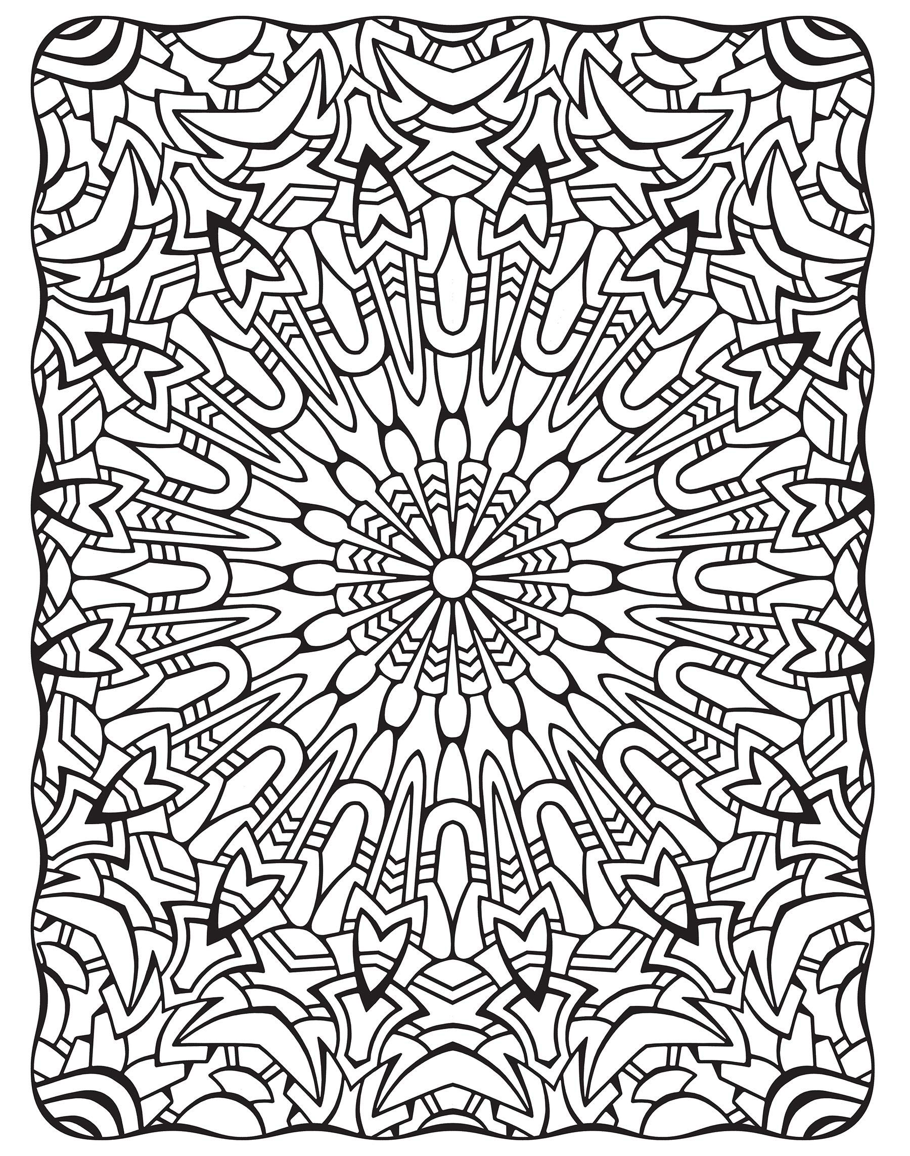 Amazon Com Creative Haven Dimensions Coloring Book Creative Haven Coloring Books 97 Abstract Coloring Pages Geometric Coloring Pages Mandala Coloring Pages