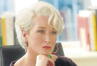 Peinado Meryl El Diablo Viste De Prada  Buscar Con Google  Meryl