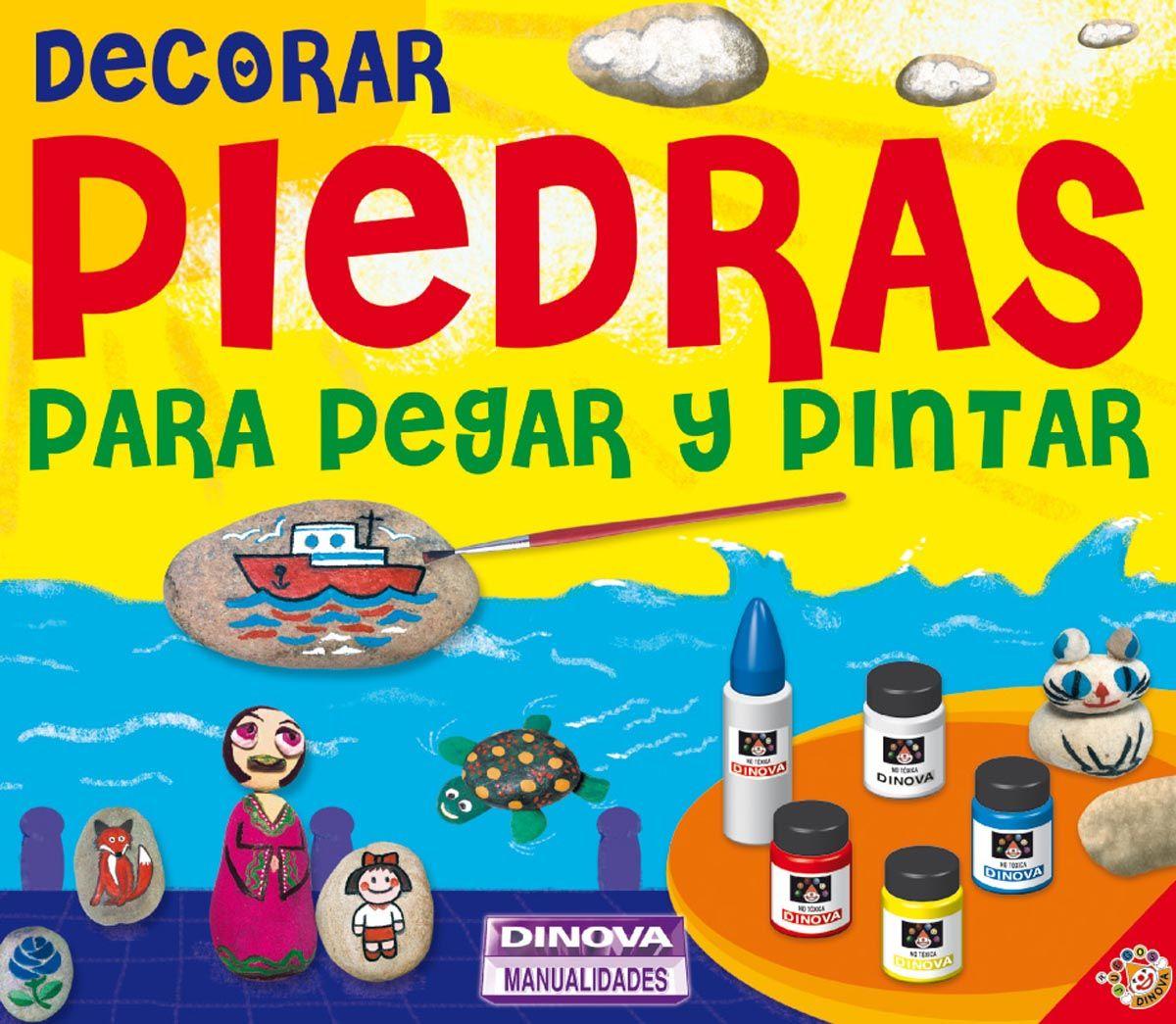 Manualidades - Juegos educativos - Juegos Dinova - Decorar piedras ...