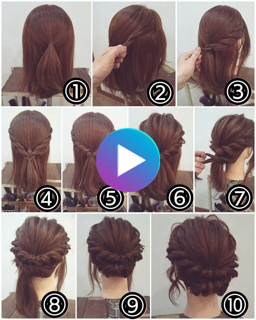 Pin Auf Formelle Frisuren