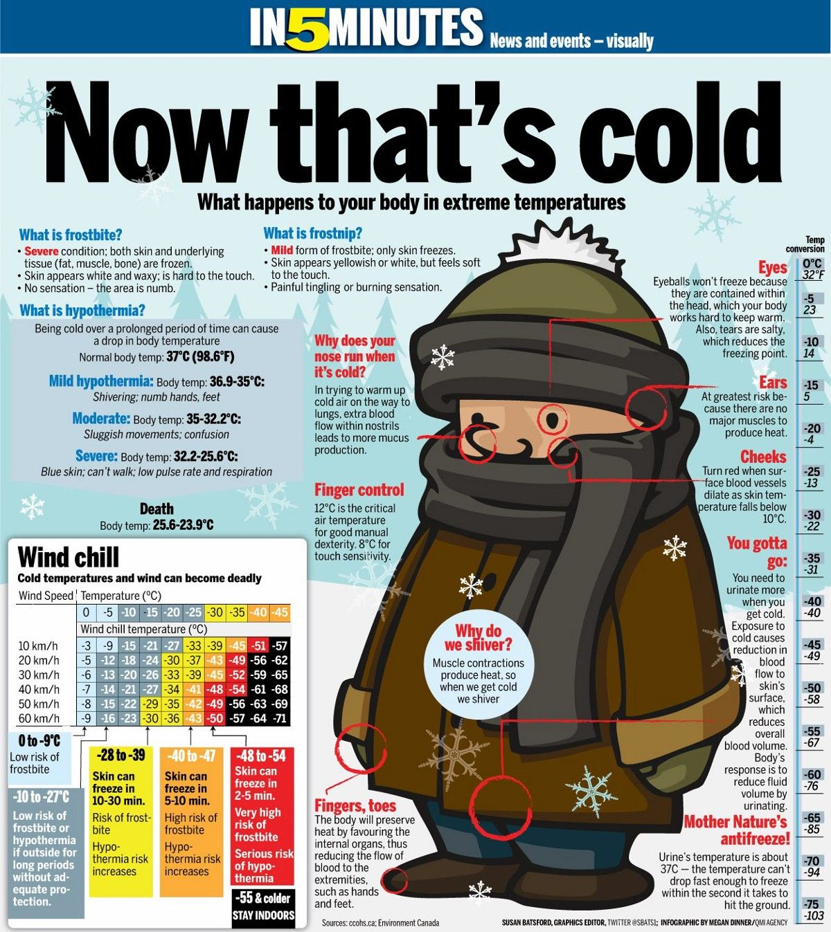 Handy Facts About Hypothermia Frostbite And Other Cold Injuries For Skiers And Boarders What Happened To You Winter Survival Frostbite
