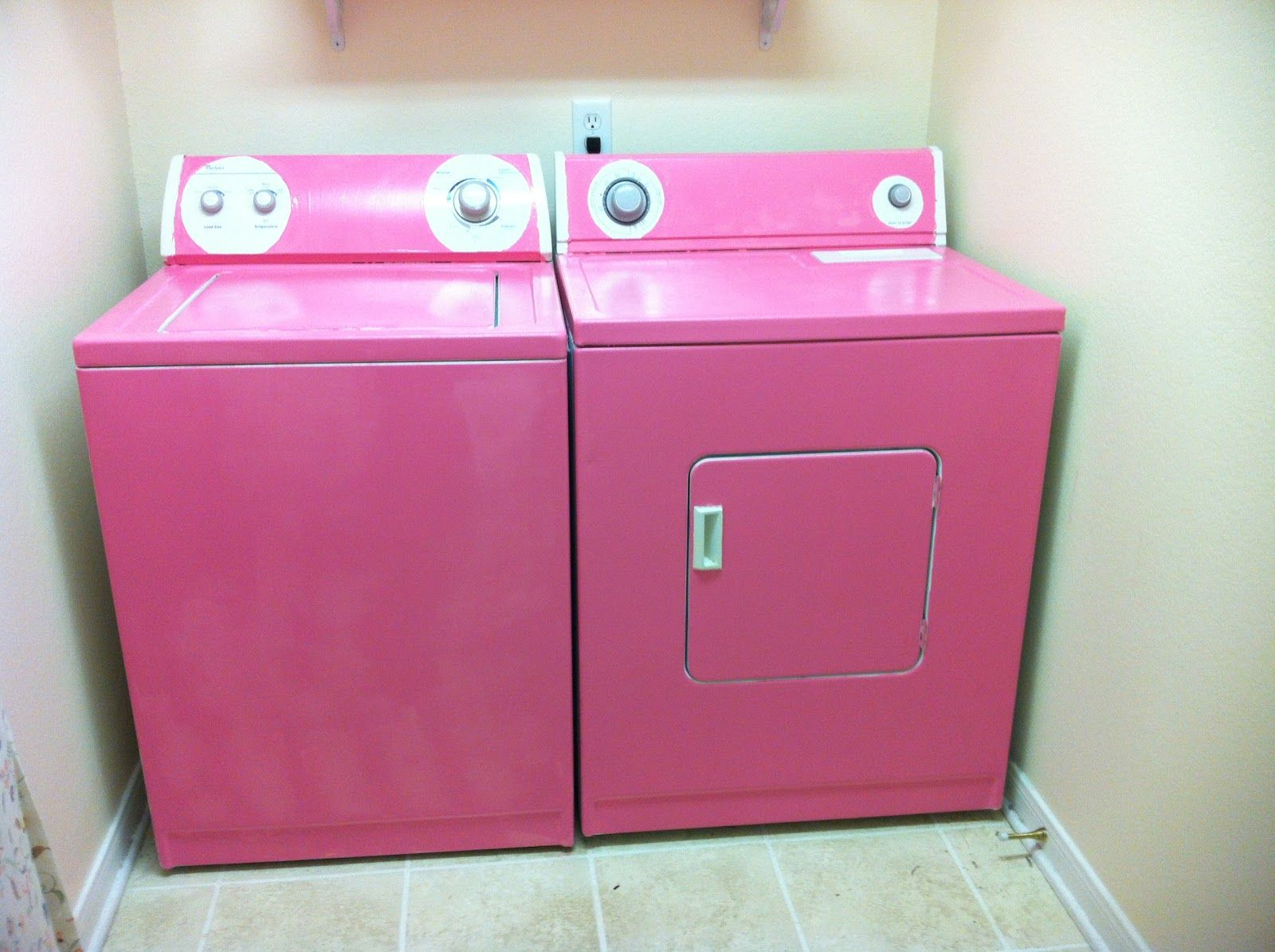 Ooh Idea For Plasti Dip But Definitely Not Pink Pink Polka Dots Pink Washing Washing Machine