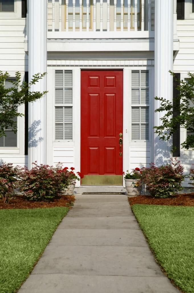 residential front doors red. 35 Different Red Front Doors (Many Designs \u0026 Pictures) Residential W