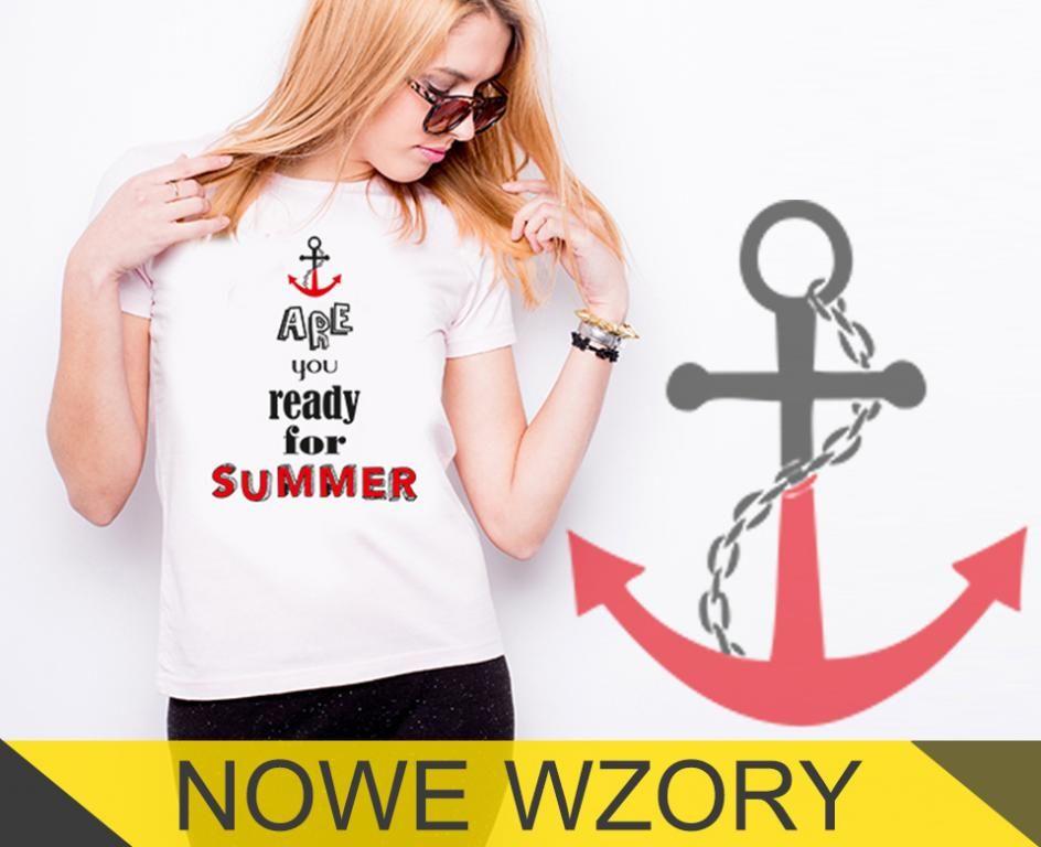 Nowe Wzory Koszulka Damska Biala T Shirt Dtg S Women Fashion T Shirt