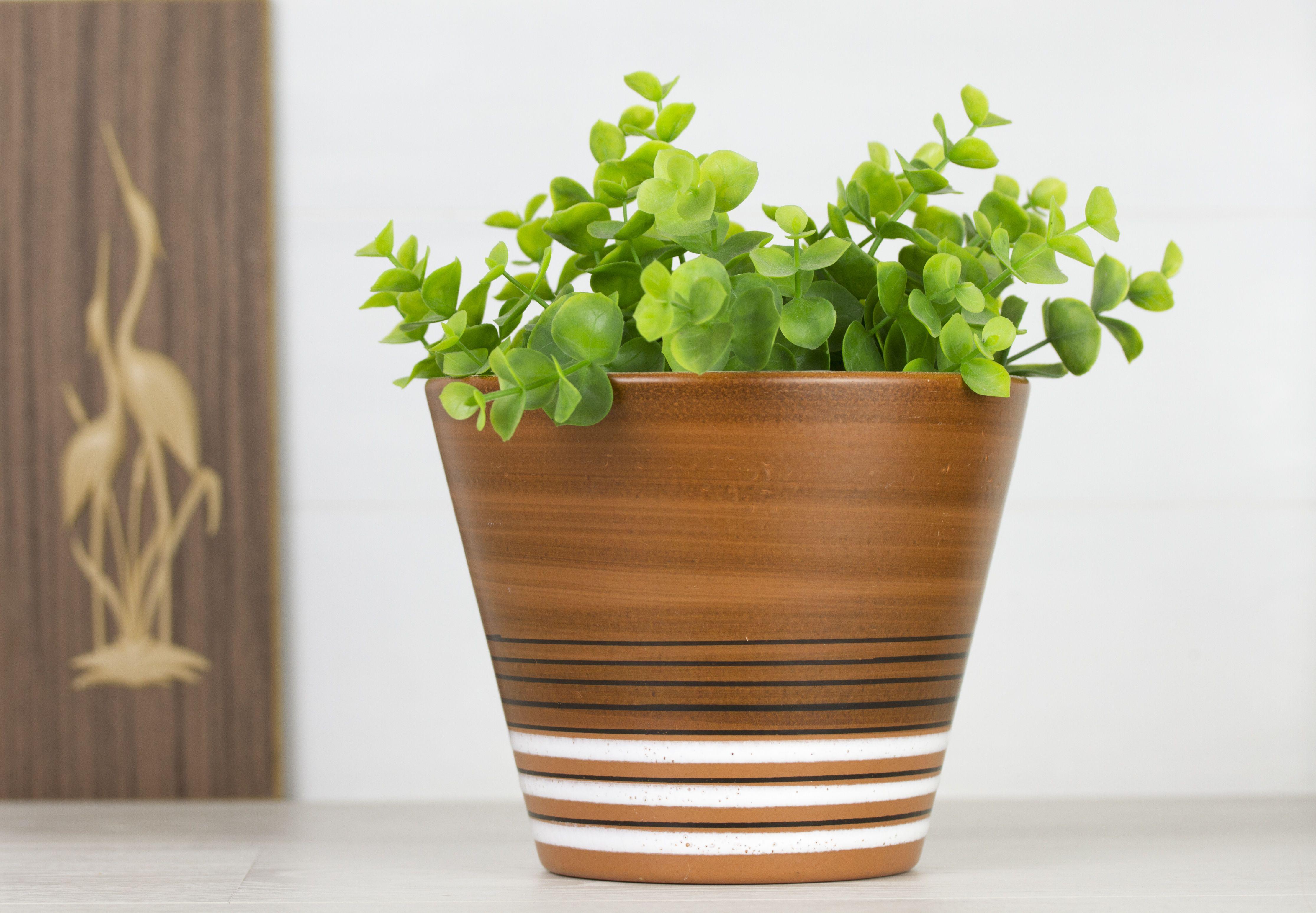 Tiko Gouda Planter Vintage Dutch Ceramic Planters Flower Pots
