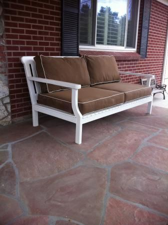 outdoor couch | Do It Yourself Home Projects from Ana White
