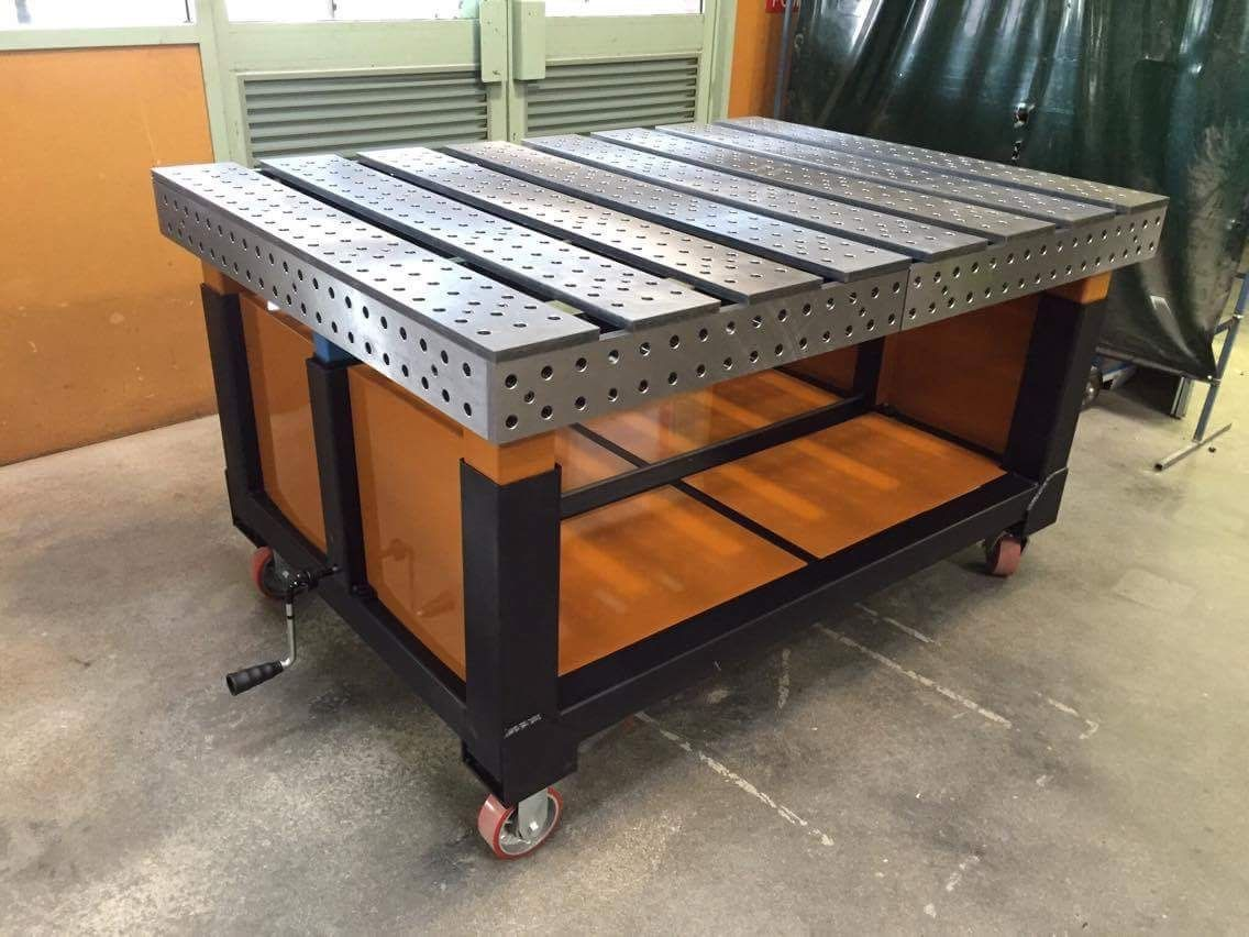 1136 852 metal - Plan fabrication table ...