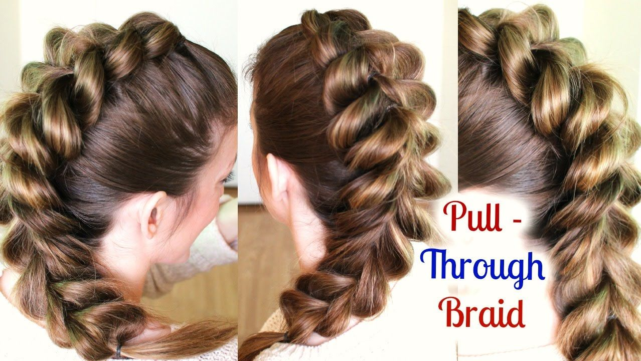 Cute and easy ponytail hairstyle for school school hairstyles