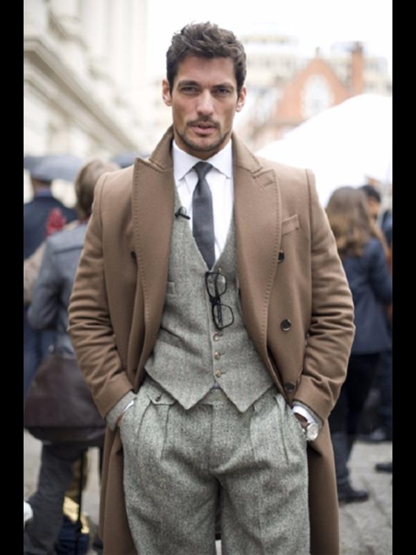 david-gandy-tweed-three-piece-suit | Well dressed men ...
