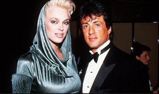 Sylvester Stallone Gitte Nielsen +Dynasty Vtg Danish Magazine 1985