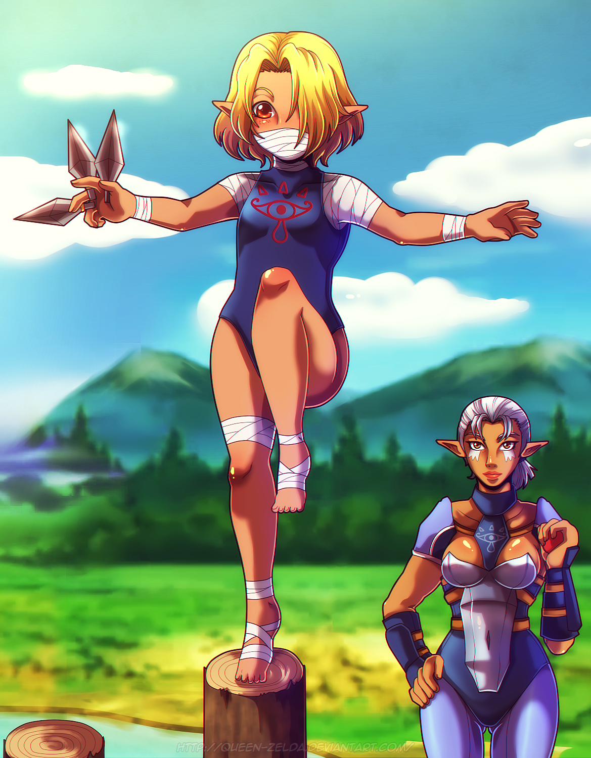 View Ocarina Of Time Impa  Wallpapers