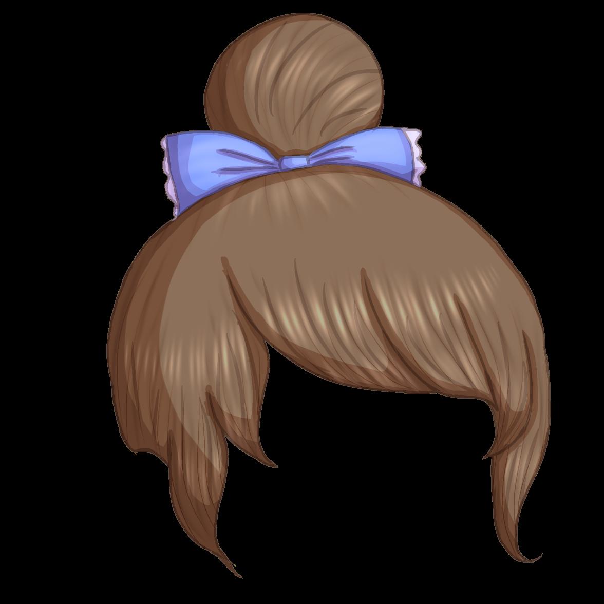 Hair Bun Anime Top Knot Hairdye Hairofinstagram Hairideas In 2020 Chibi Hair Drawing Hair Tutorial Cartoon Hair