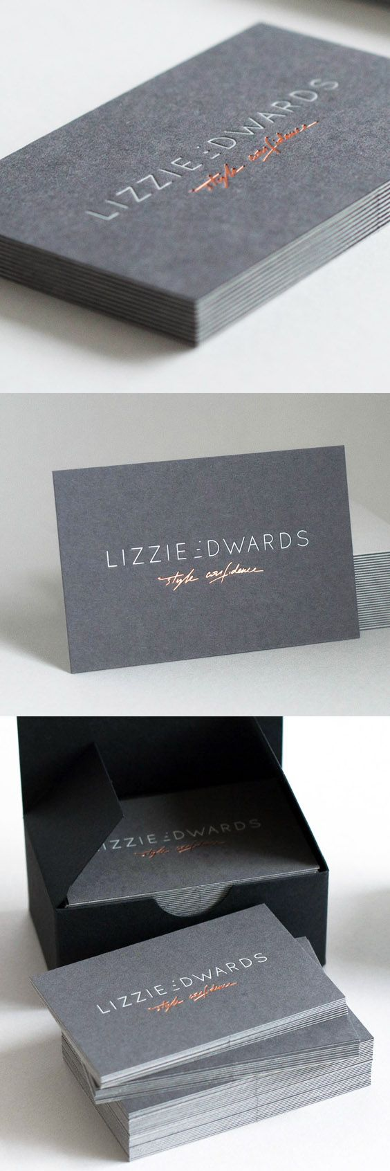 Hot foil stamping business cards printed on colorplan paper side a hot foil stamping business cards printed on colorplan paper side a 270gsm colorplan pale grey 889 dark grey foil 6641 copper foil side b 27 reheart Image collections