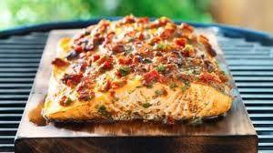 Cedar Grilled Salmon