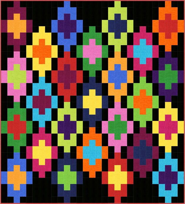 Colorplay Precuts- Mayan Steps- Marlous Designs