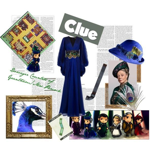 Mrs peacock clue