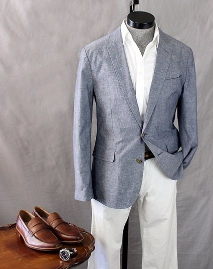 How To Wear It: The Lightweight, Lighter Colored Sportcoat | White ...