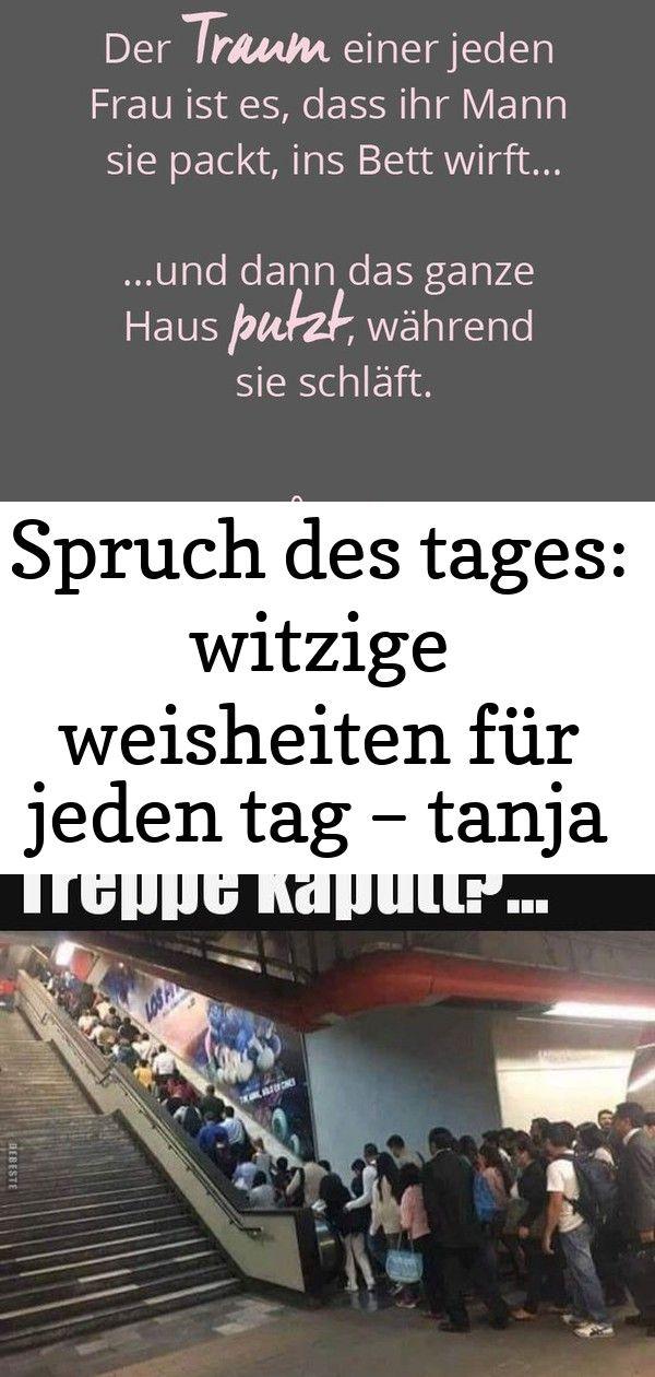 Spruch des tages witzige weisheiten für jeden tag  tanja schweiger 2 Spruch des Tages Witzige Weisheiten für jeden Tag  Tanja Schweiger  Treppe kaputt  Lustige...