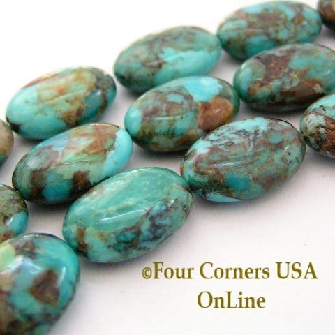 corners turquoise designer inch pin usa strand slice kingman online graduated freeform beads four