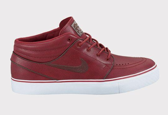 new styles 11149 d6dde Stefan Janoski Mid Premium Barn   Dark Oak-White - Nike Zoom