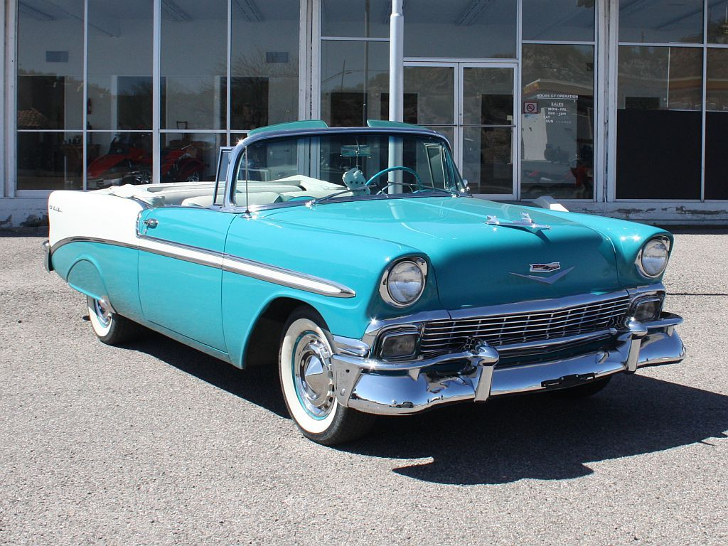 1956 Chevrolet Bel Air Convertible Jpm Entertainment