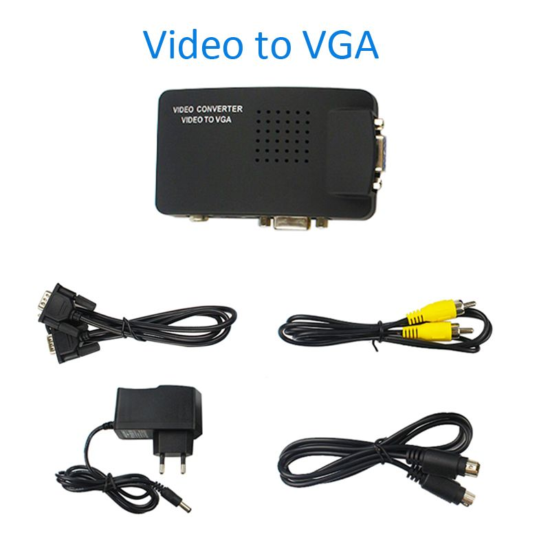 Fabulous High Resolution Digital Av S Video To Vga Tv Signal Converter Wiring Cloud Philuggs Outletorg