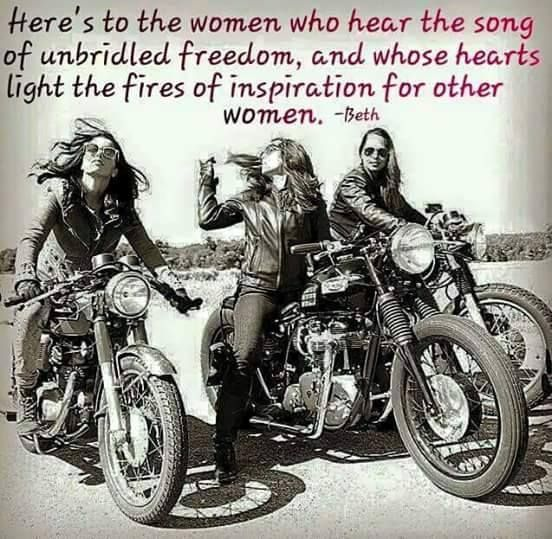 The Most Famous Women Motorcycle Quotes 15 Quotes Female