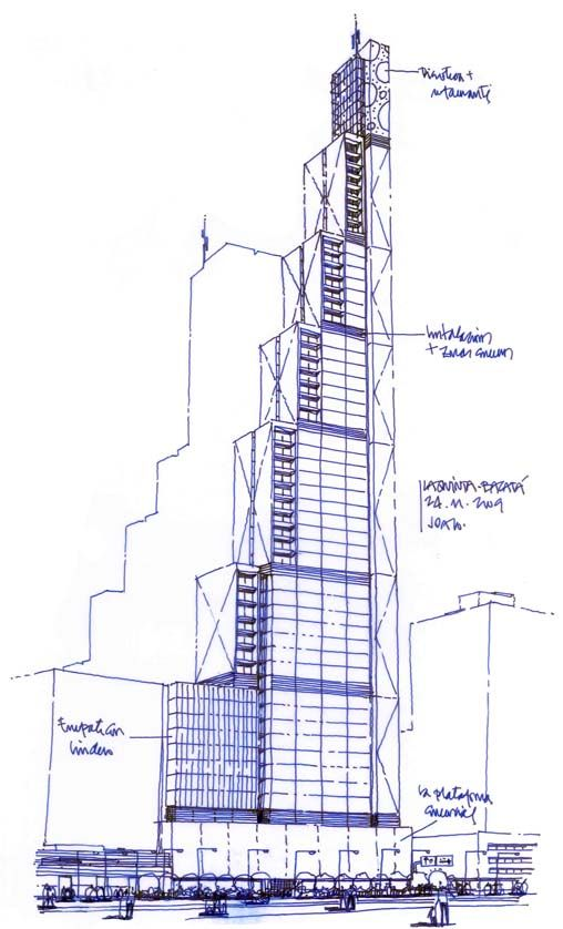 Boceto Del Edificio Httpwwwbdbacatacom Bocetos De - A step up in amazing architecture la