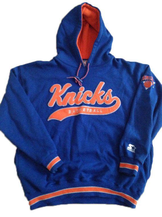 Vintage New York Knicks 90s Nba Hoodie By 21vintage On Etsy Vintage New York Hoodies New York Knicks
